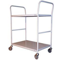 2 Tier Steel Trolley
