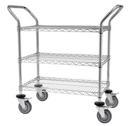 3 Tier Mesh Trolley