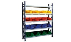 STACKRACK with Stack N Hang Bins 4