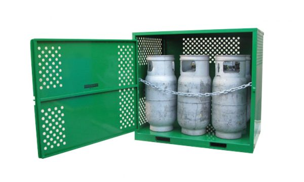 6 Cylinder Heavy Duty LPG Gas Store with Forklift Pockets