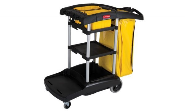 High Capacity Cleaning Cart 3