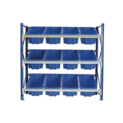 STACKRACK with 12 - 52L TUFFTOTES 3