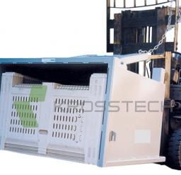 Mega Bin Forklift Tipping Attachment