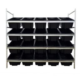STACKRACK with 20 – 52L TUFFTOTES
