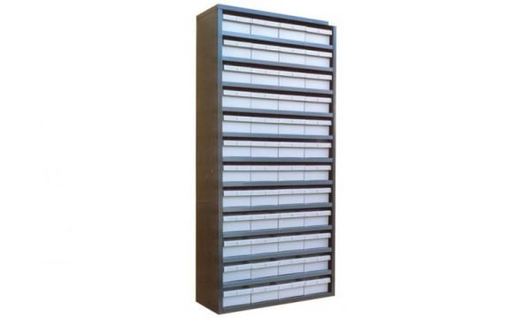 STORBAY Shelving Modules with 48 Small Parts Trays 3