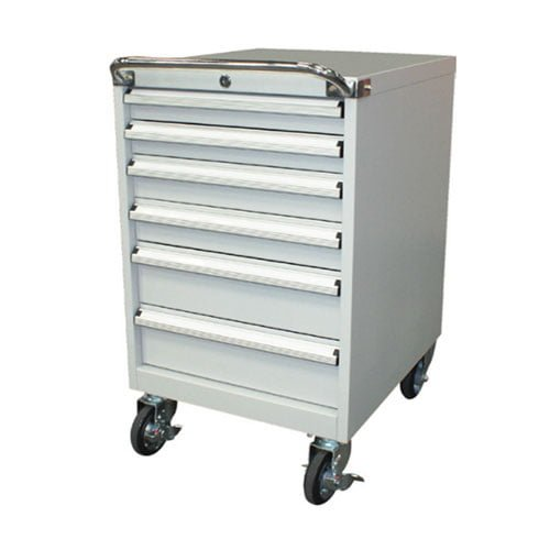 6 Drawer Mobile Tool Cabinet – 565 mm Wide 2
