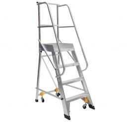 Mobile Order Picking Ladder