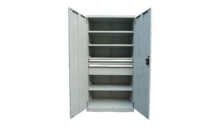 2 Drawer/ 4 Shelf Industrial Cupboard