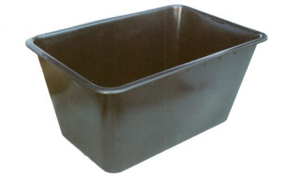 200 Litre Nesting Crate Black Recycled | 200 Litre Nesting Crate Black Recycled