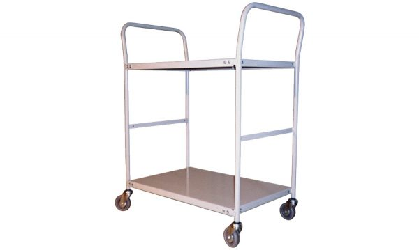2 Tier Steel Trolley | 2 Tier Steel Trolley