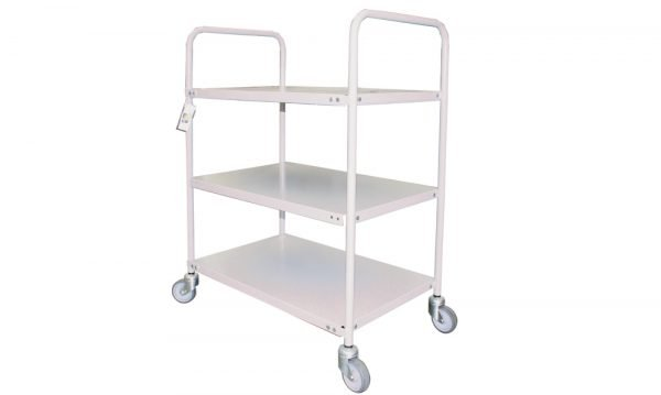 3 Tier Steel Trolley | 3 Tier Steel Trolley