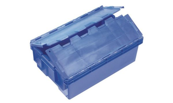 30 Litre Hinged Lid Security Crate | 30 Litre Hinged Lid Security Crate