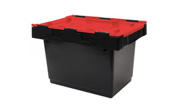 34 Litre Hinged Lid Security Crates | 34 Litre Hinged Lid Security Crates