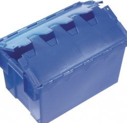 50 Litre Hinged Lid Security Crate