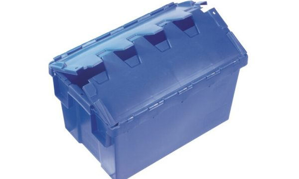 50 Litre Hinged Lid Security Crate | 50 Litre Hinged Lid Security Crate