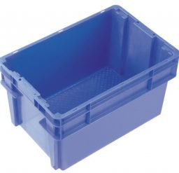 52 Litre 2000 Series Modular Crate & Lid – Unvented