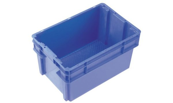 52 Litre 2000 Series Modular Crate & Lid - Unvented | 52 Litre 2000 Series Modular Solid Crate