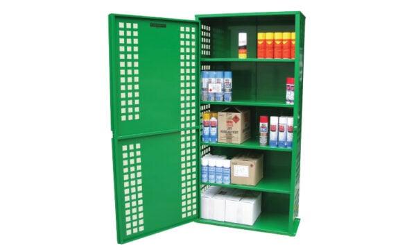216 Can Aerosol Storage Cabinet