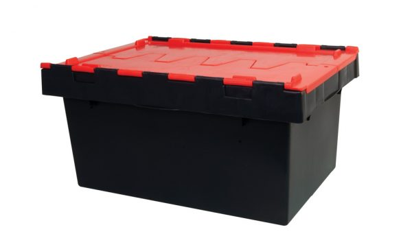 68 Litre Hinged Lid Security Crates | 68 Litre Hinged Lid Security Crates