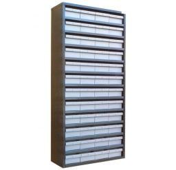 STORBAY Shelving Modules with 48 Small Parts Trays