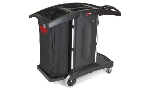 Compact Folding Housekeeping Cart with Bag | Compact Folding Housekeeping Cart with Bag
