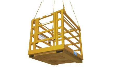 Crane Work Platform Cages