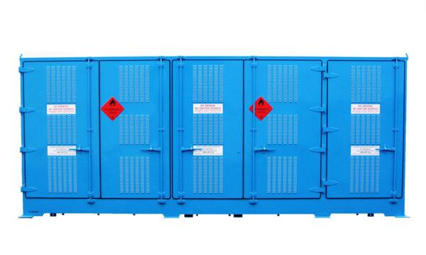 10 Pallet Relocatable Dangerous Goods Store
