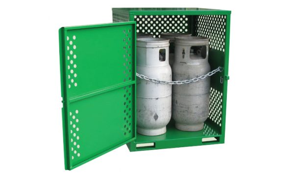 4 Cylinder Heavy Duty LPG Gas Store with Forklift Pockets