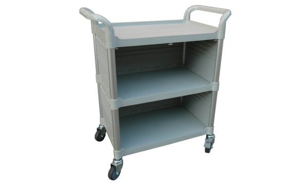 Modular Trolley - 3 Shelves with Enclosed Sides) | Modular Trolley (3 shelves / enclosed sides)