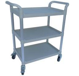 Modular Trolley (3 shelves)