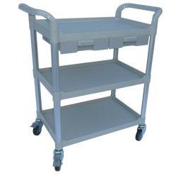 Modular Trolley (3 shelves/ 2 small drawers)