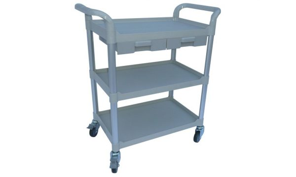 Modular Trolley - 3 Shelves & 2 Small Drawers) | Modular Trolley (3 shelves / 2 small drawers)