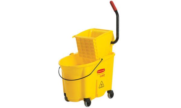 33 Litre Mop Bucket with Side Press Wringer | 33 Litre Mop Bucket with Side Press Wringer