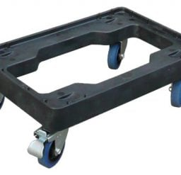 Plastic Fish Crate Skate with Stainless Steel Castors