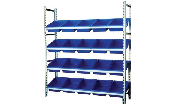STACKRACK with 20 – 13.5L TUFFTOTES | stack rack da4061-bl