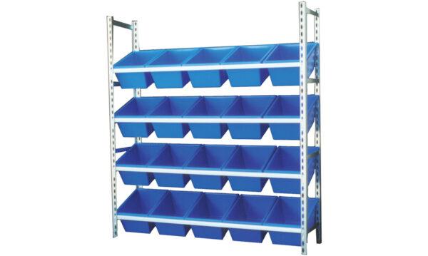 STACKRACK with 20 – 22L TUFFTOTES | stack rack da4062-bl
