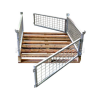 Half Height Pallet Cage - Timber Base | Half Height – Timber Base Pallet Cage
