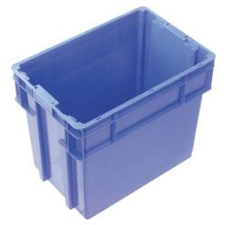 78 Litre 2000 Series Modular Crate & Lid – Unvented