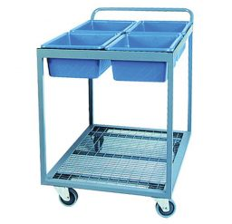Order Picking Trolley – Four Tub