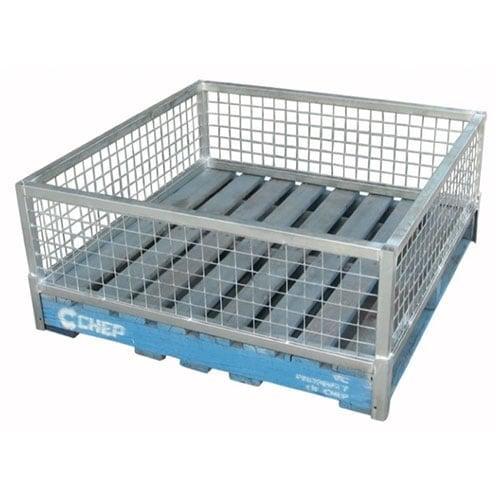 mesh pallet retainer