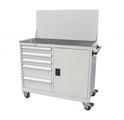 Industrial Tool Cabinet Workstation