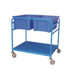 Order Picking Trolley – Double Tub