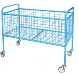 High Platform Mesh Trolley