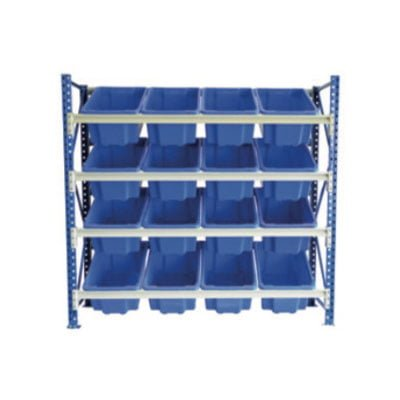 STACKRACK with 16 - 52L TUFFTOTES | activity rack with tuff totes