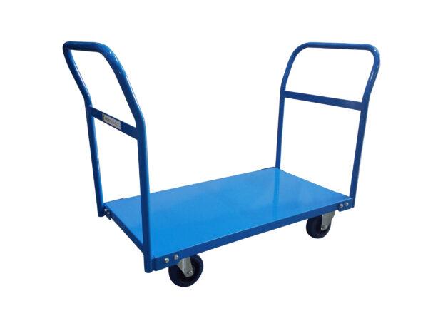 Double Pushrail - Heavy Duty Platform Trolley |