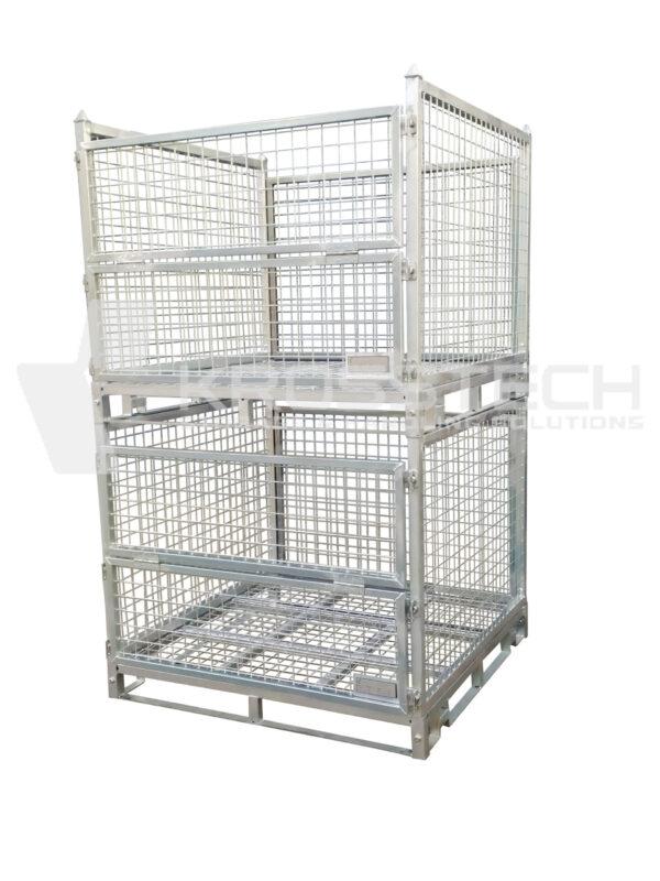 Full Height Steel Stillage – Sheet Metal Base |