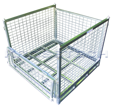 Full Height Steel Stillage – Mesh Base |