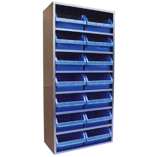 STORBAY Shelving Module with 14 Stack n Hang Bins |