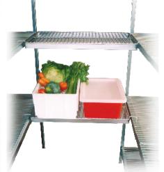 525mm Wide – Bridging Shelves
