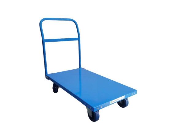 Single Pushrail - Heavy Duty Platform Trolley |